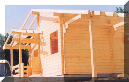 Casas de madera fabricacion de bungalows y casa de for Fabricantes de casas de madera